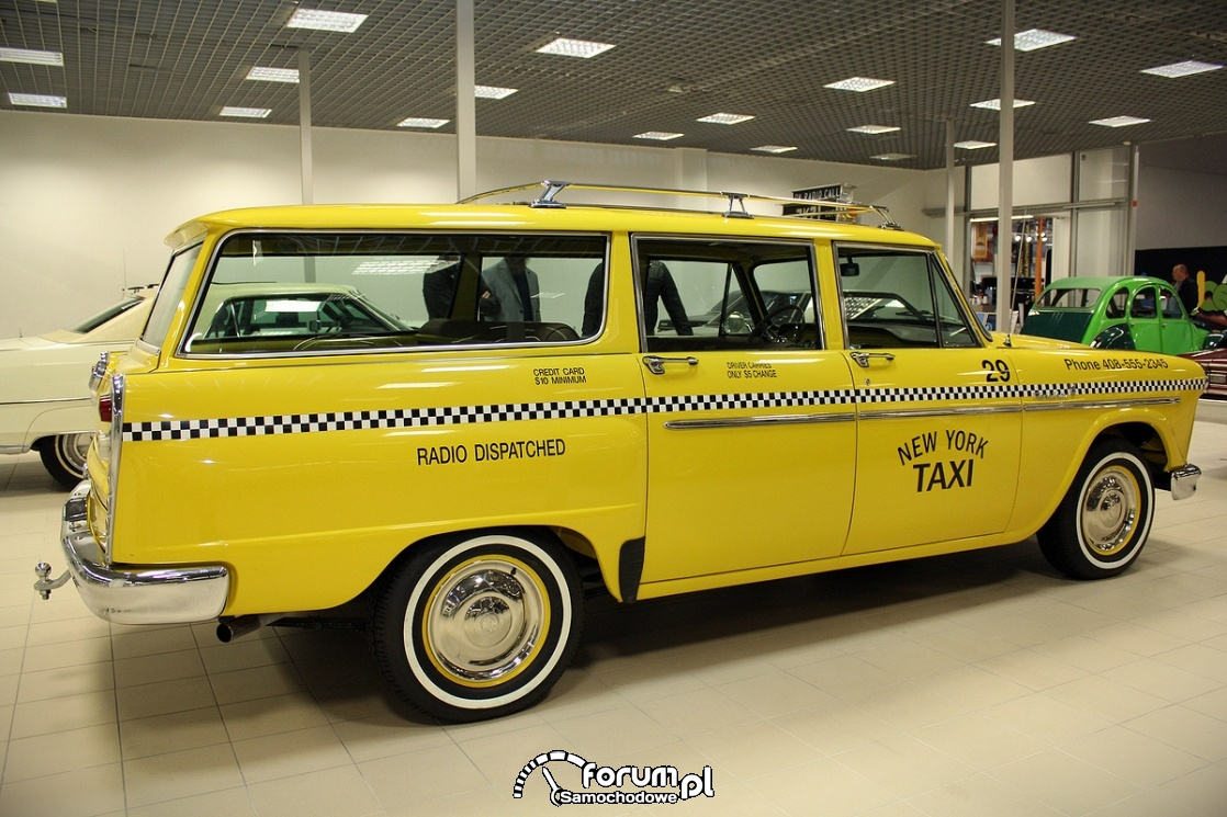 Checker 1965 rok, V8 137KM, New York Taxi
