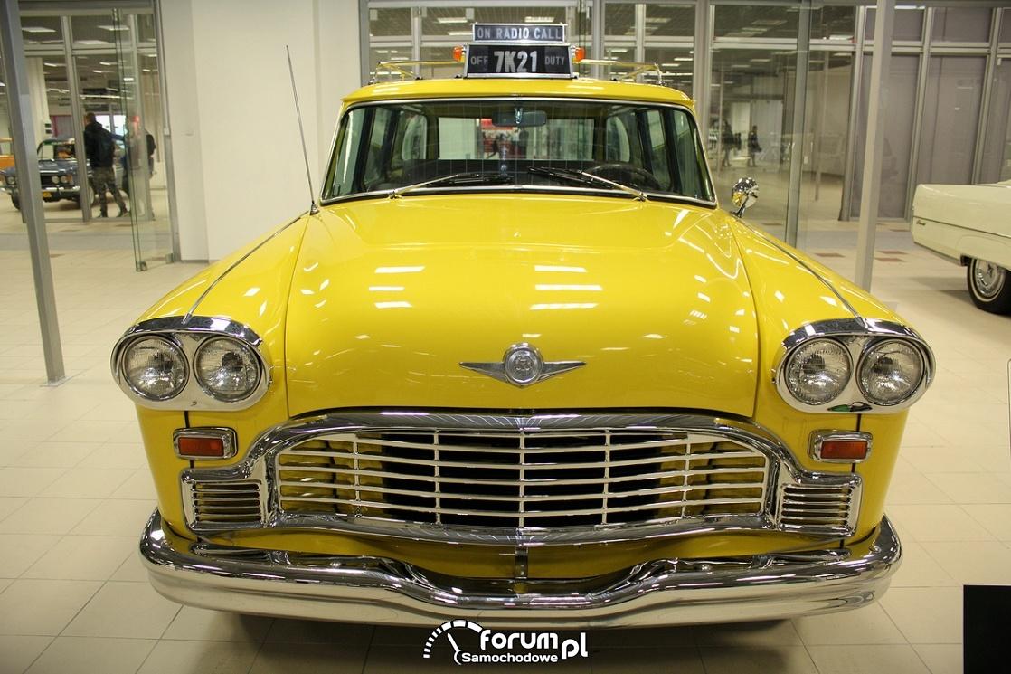 Checker 1965 rok, V8 137KM, przód, taksówka
