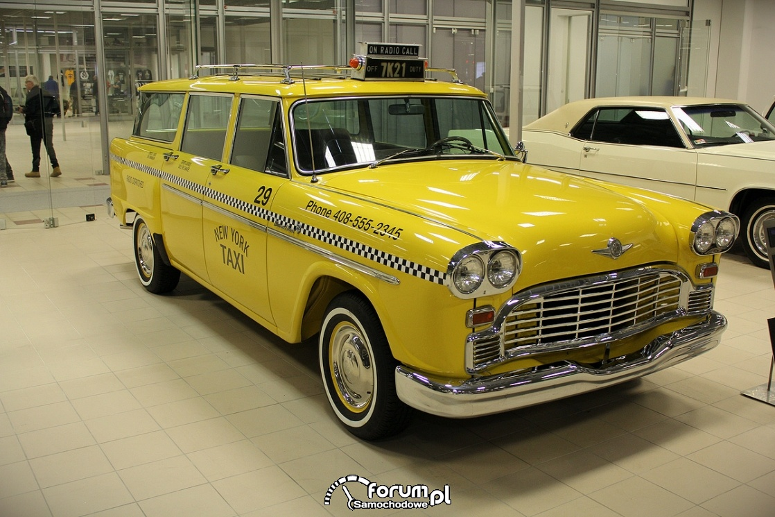 Checker 1965 rok, V8 137KM, TAXI