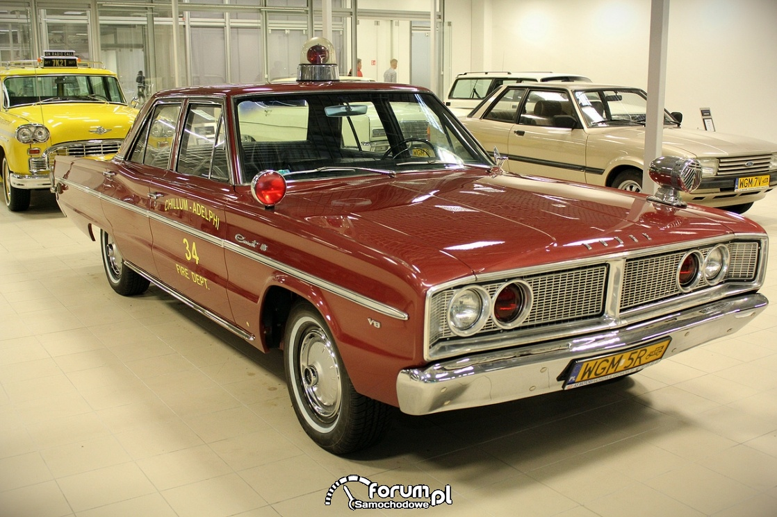 Dodge Coronet 440, 1966 rok, V8 230KM, fire departament