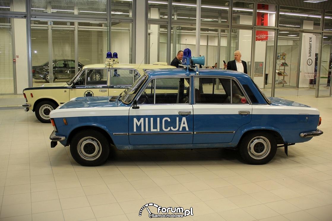Fiat 125p, Milicja