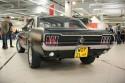 Ford Mustang 1967 rok, czarny mat, tył