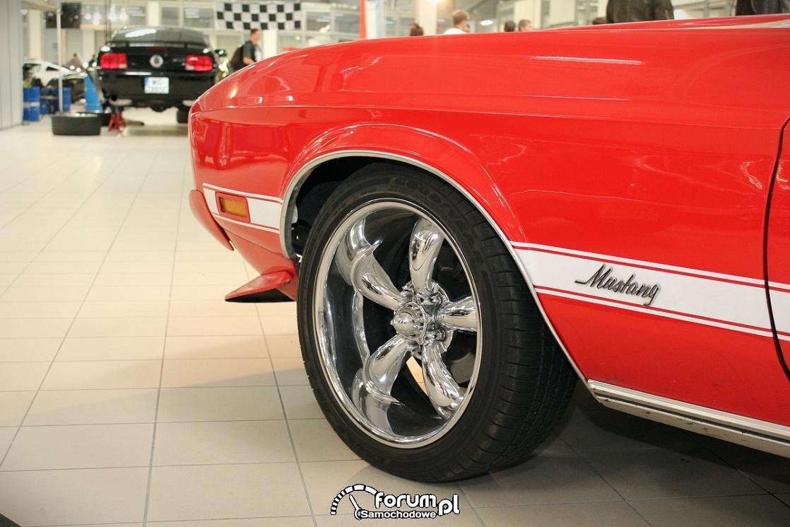 Ford Mustang Mach 1, alufelgi