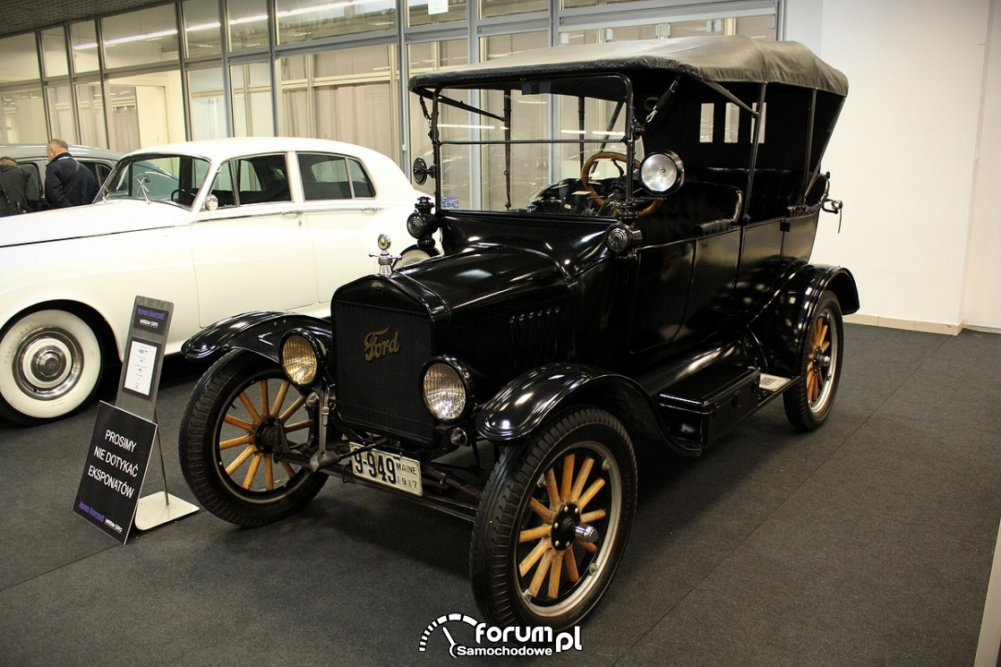 Ford T, 1917 rok