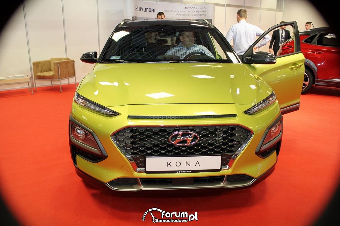 Hyundai Kona, przód
