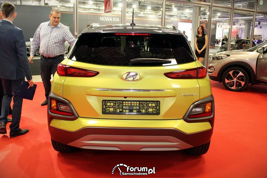 Hyundai Kona, tył