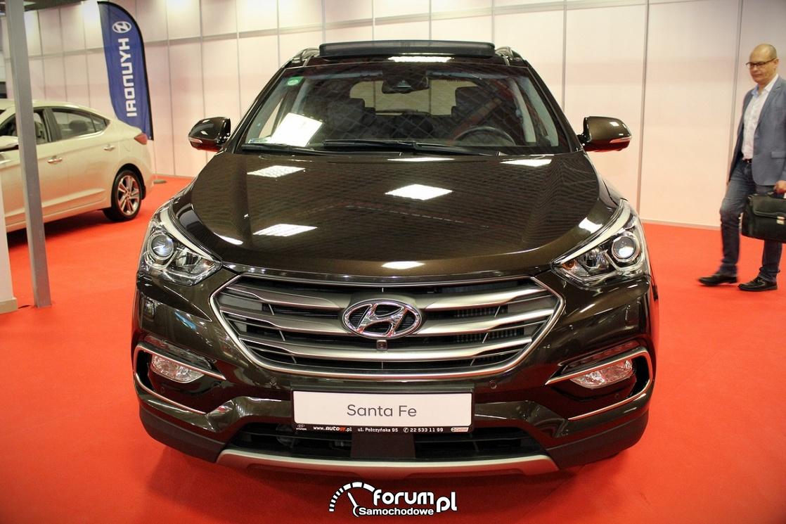 Hyundai SantaFe, przód