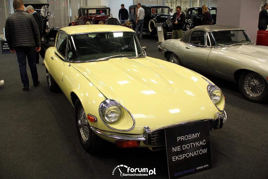 Jaguar E-type V12, przód