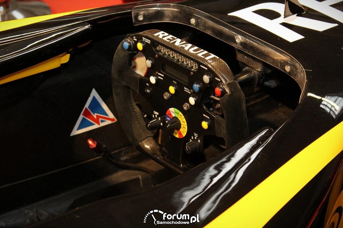 Kierownica, Formuła 1, Renault