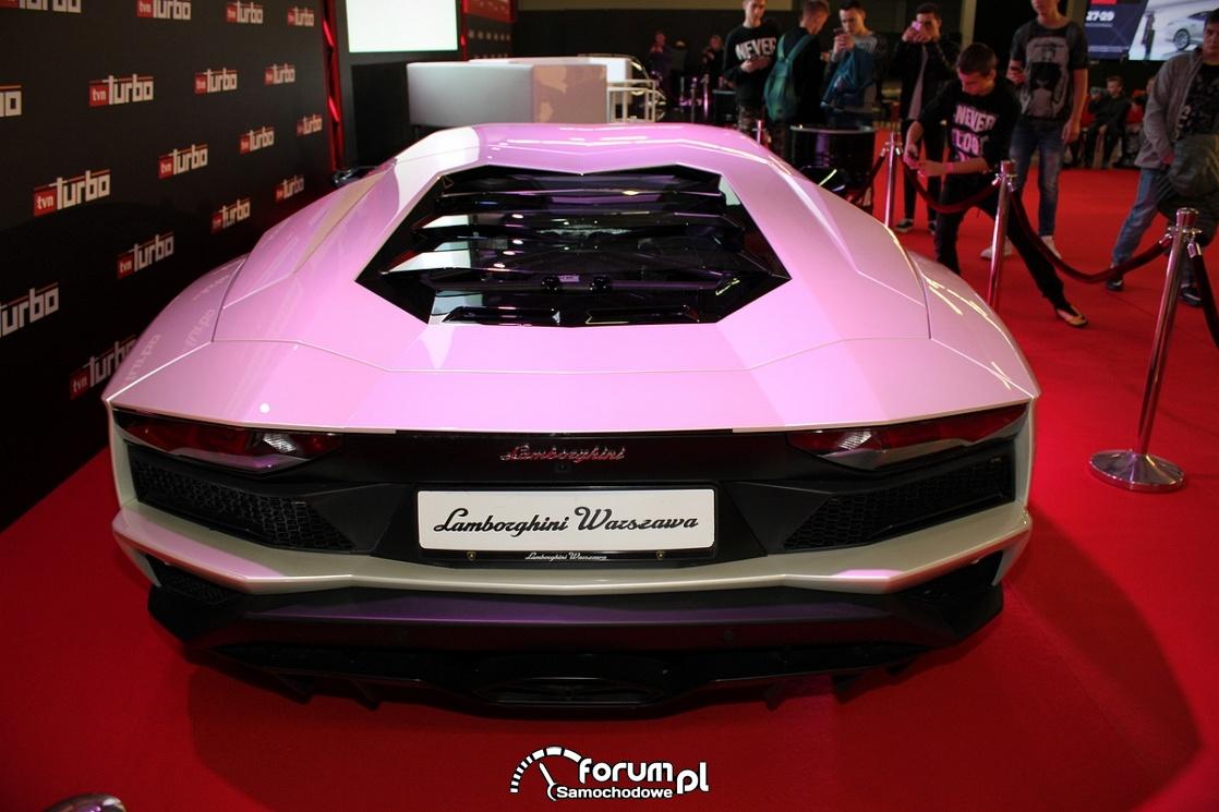 Lamborghini Aventador, tył