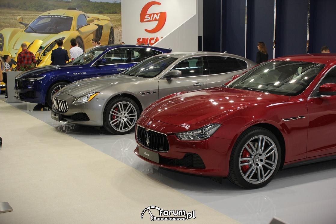Maserati, samochody luksusowe