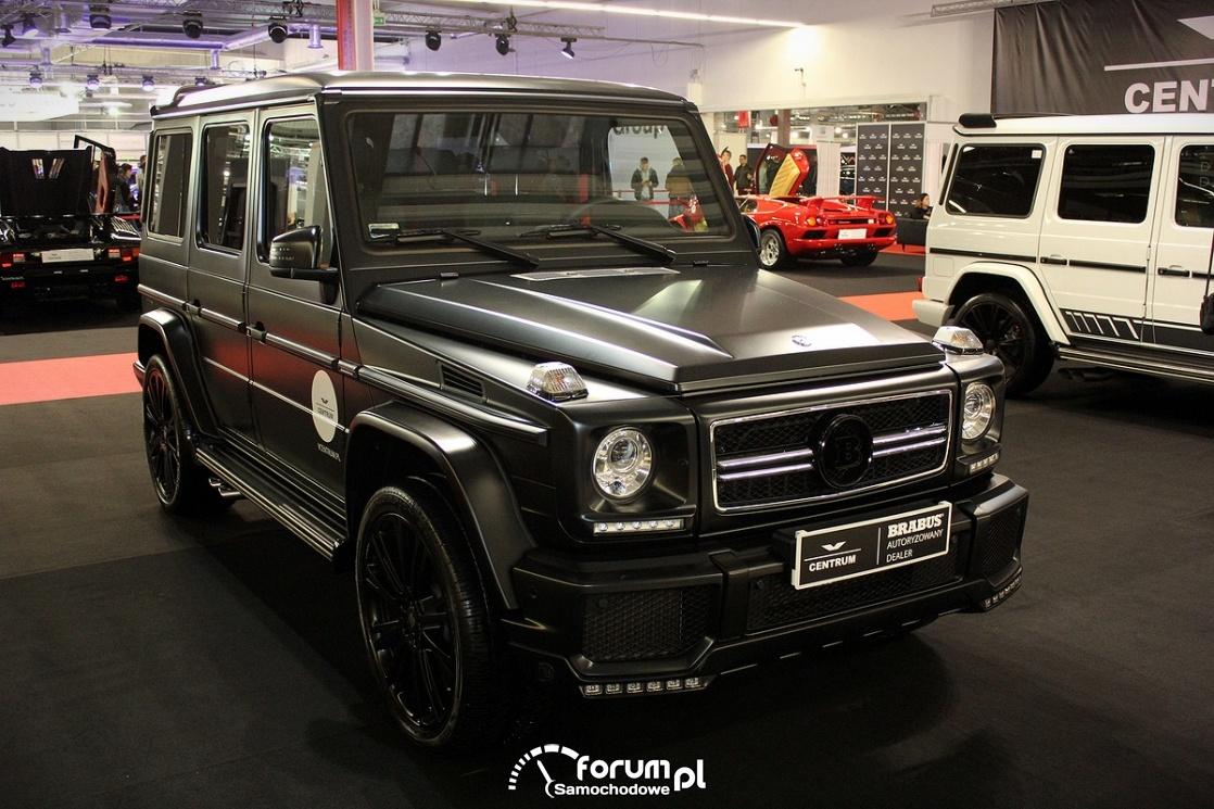 Mercedes-Benz G-klasse, czarny mat
