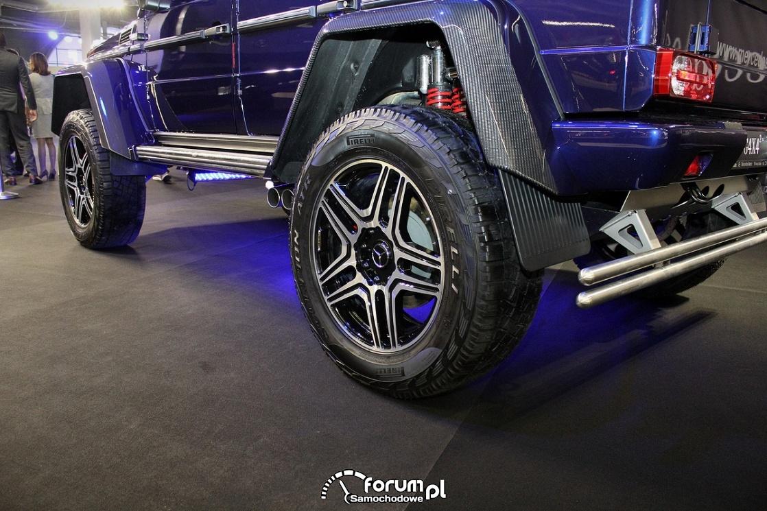 Mercedes-Benz G500 4x4, duży prześwit