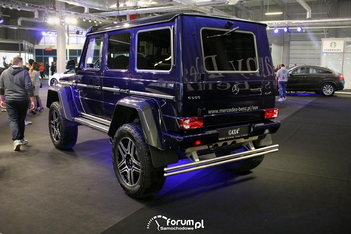 Mercedes-Benz G500 4x4, tył