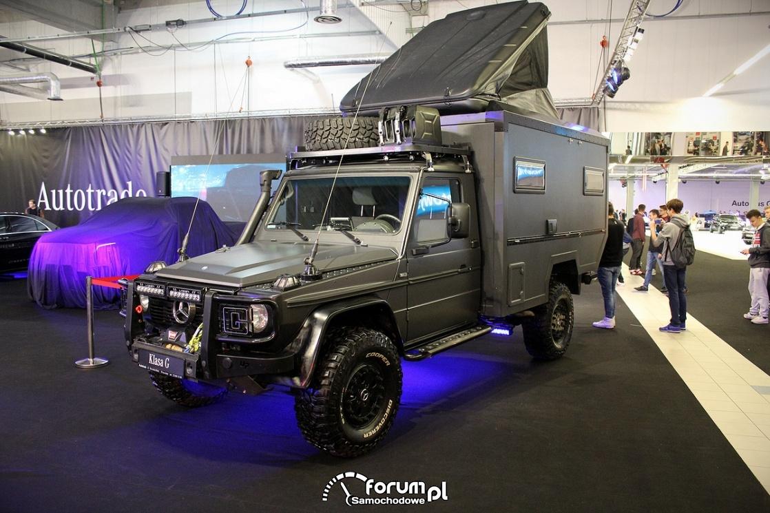 Mercedes-Benz Klasa G, kamper