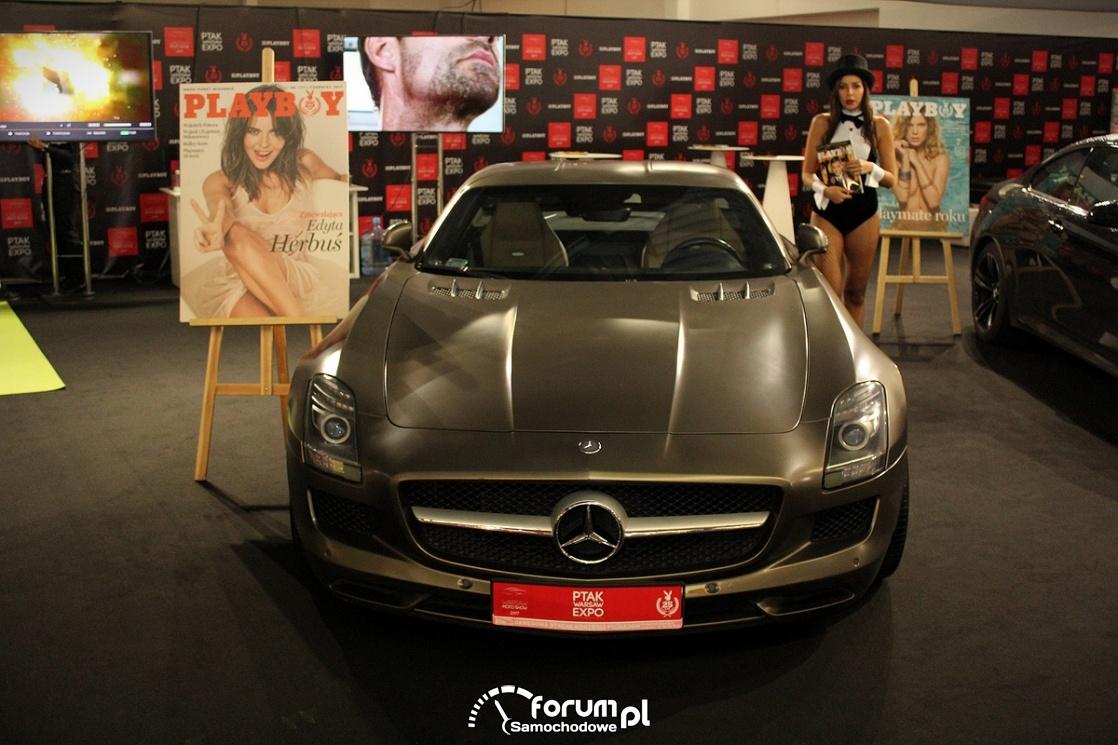 Mercedes-Benz SLS, przód