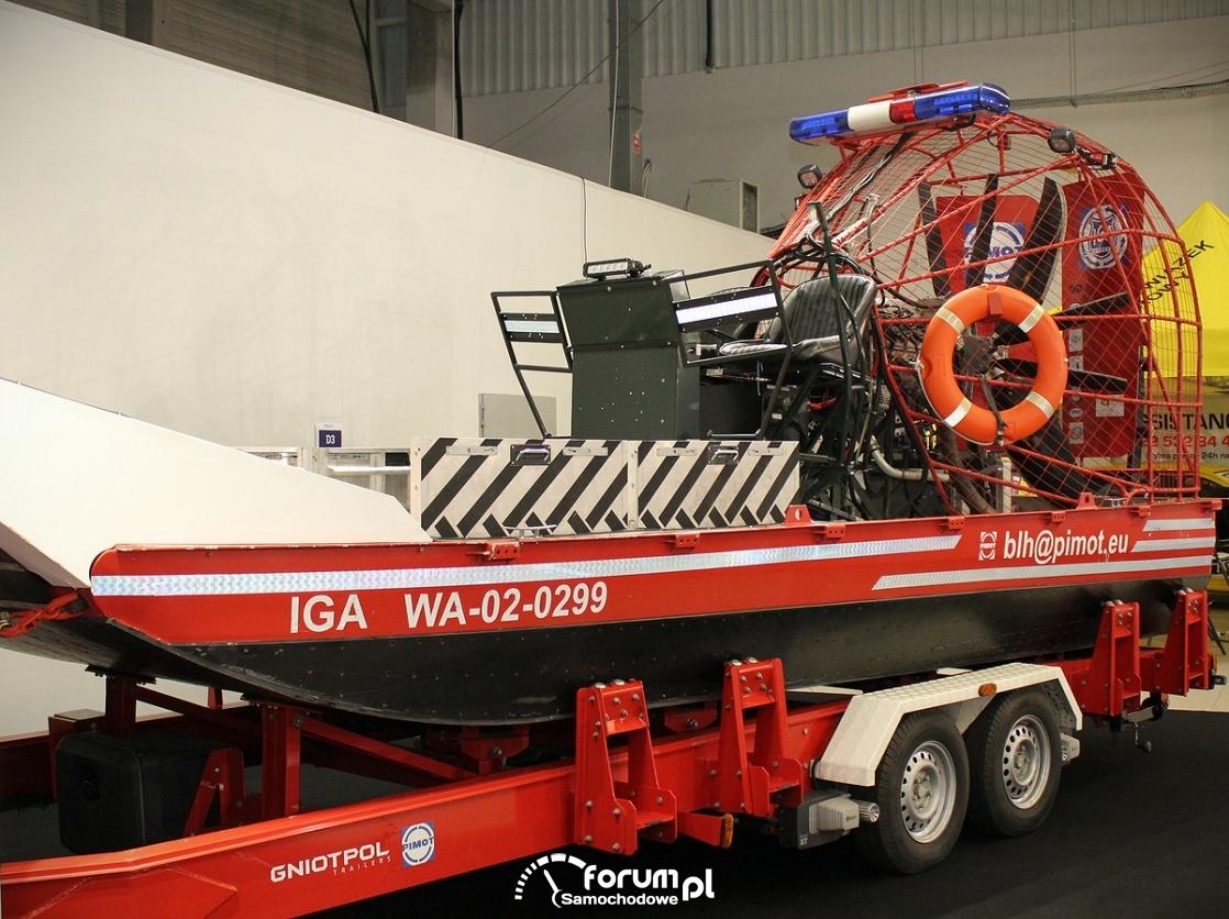 Mobilna pływająca platforma ewakuacyjna