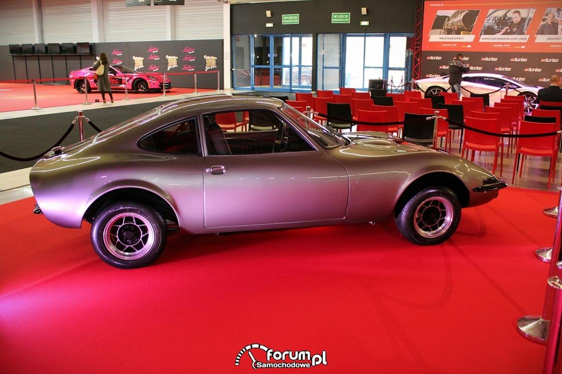 Opel GT, bok