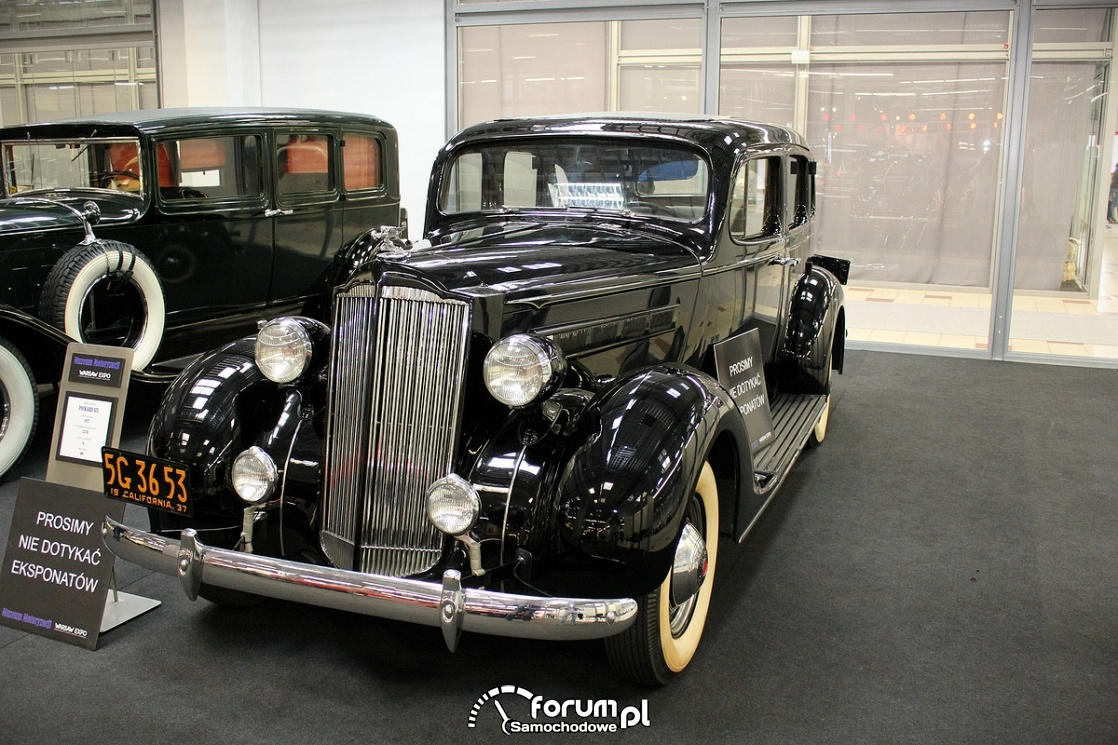 Packard Six, 1937 rok, 60KM