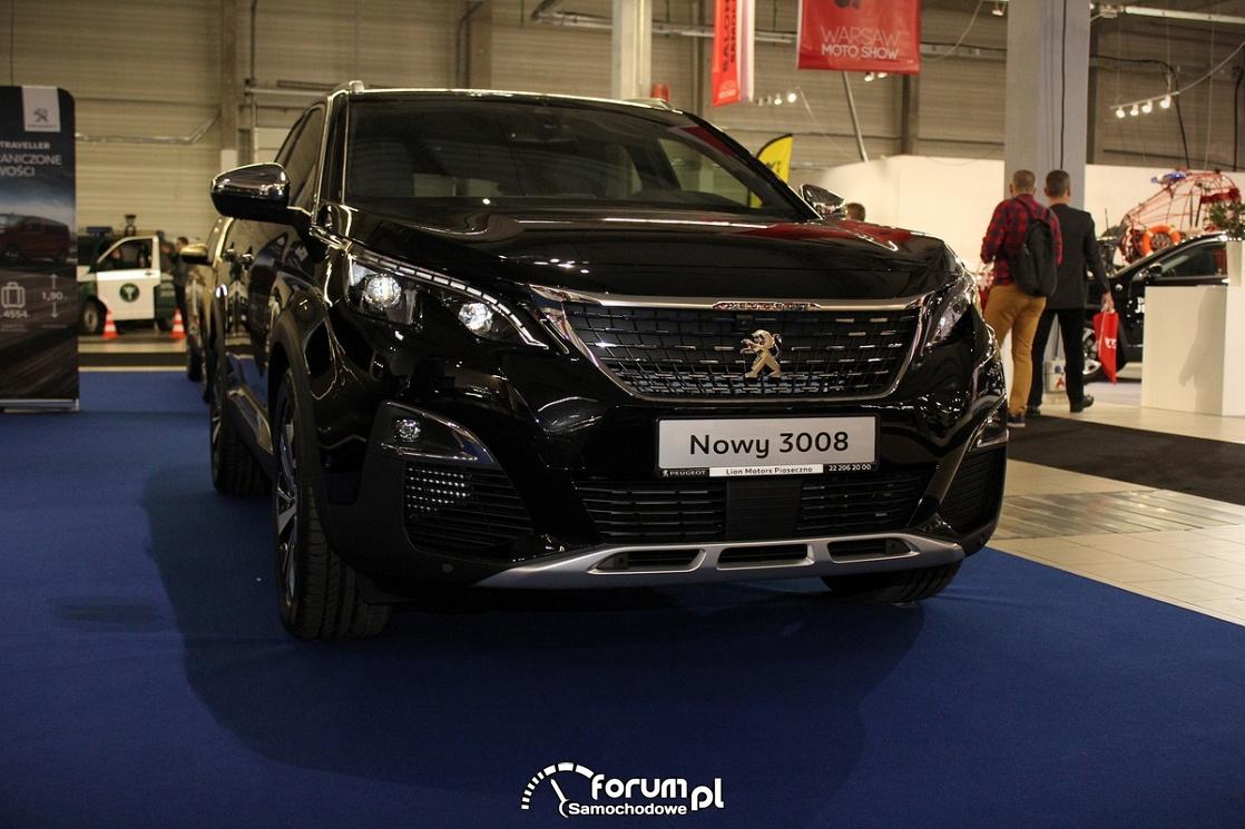 Peugeot 3008, przód