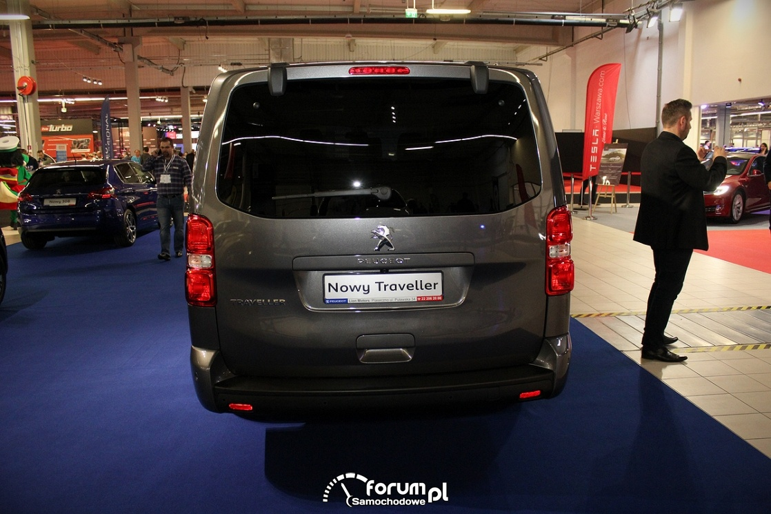 Peugeot Traveller, tył