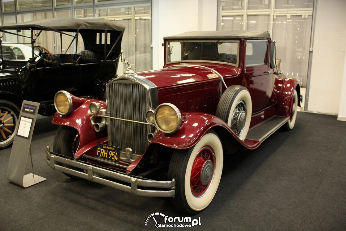 Pierce Arrow 143 Cabrio, 1929 rok, 125KM