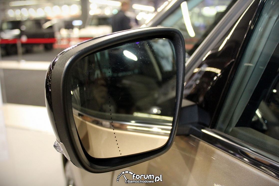 Renault Espase Initiale, lusterko asferyczne