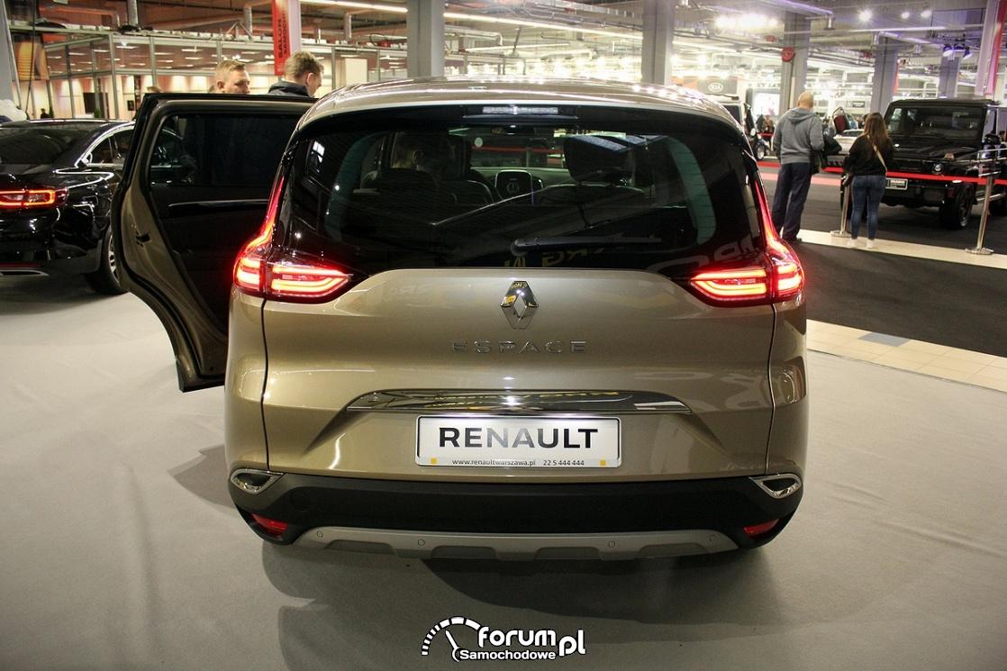 Renault Espase Initiale, tył