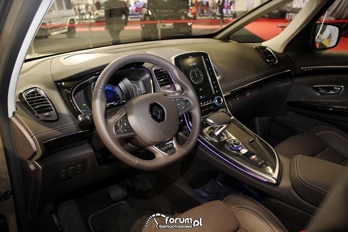 Renault Espase Initiale, wnętrze