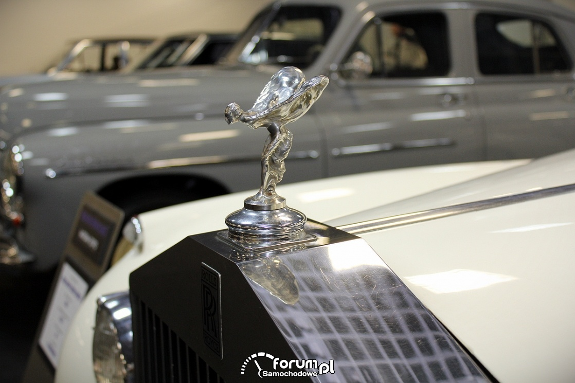 Rolls Royce Silver Cloud II, 1961 rok, figurka na masce
