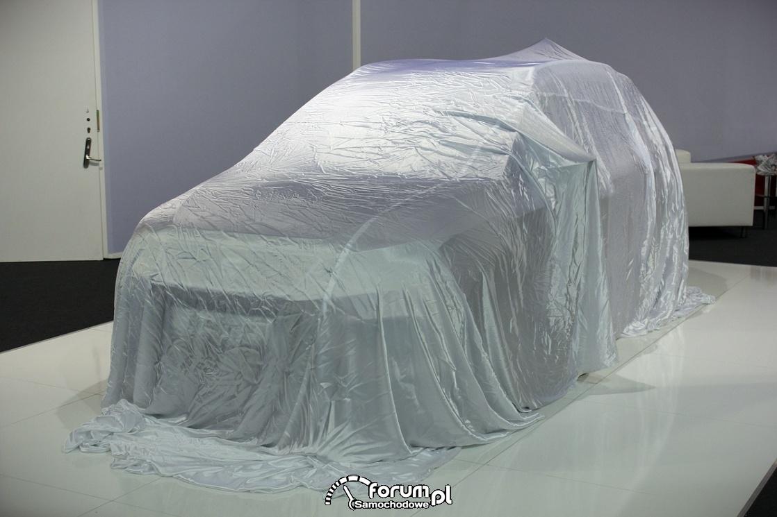 Samochód przed prezentacją