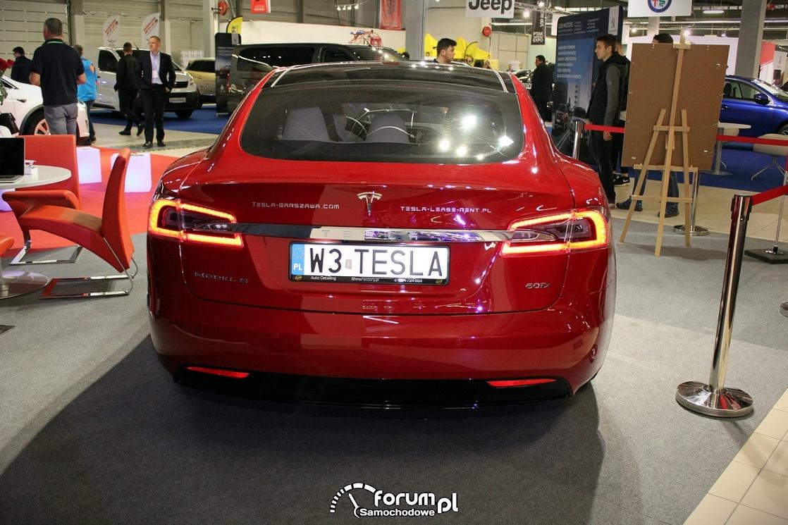 Tesla Model S 50D, tył