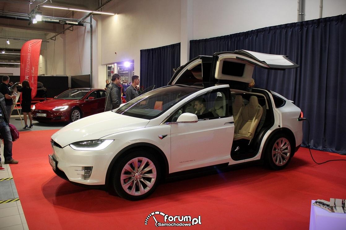 Tesla Model X 90D, bok