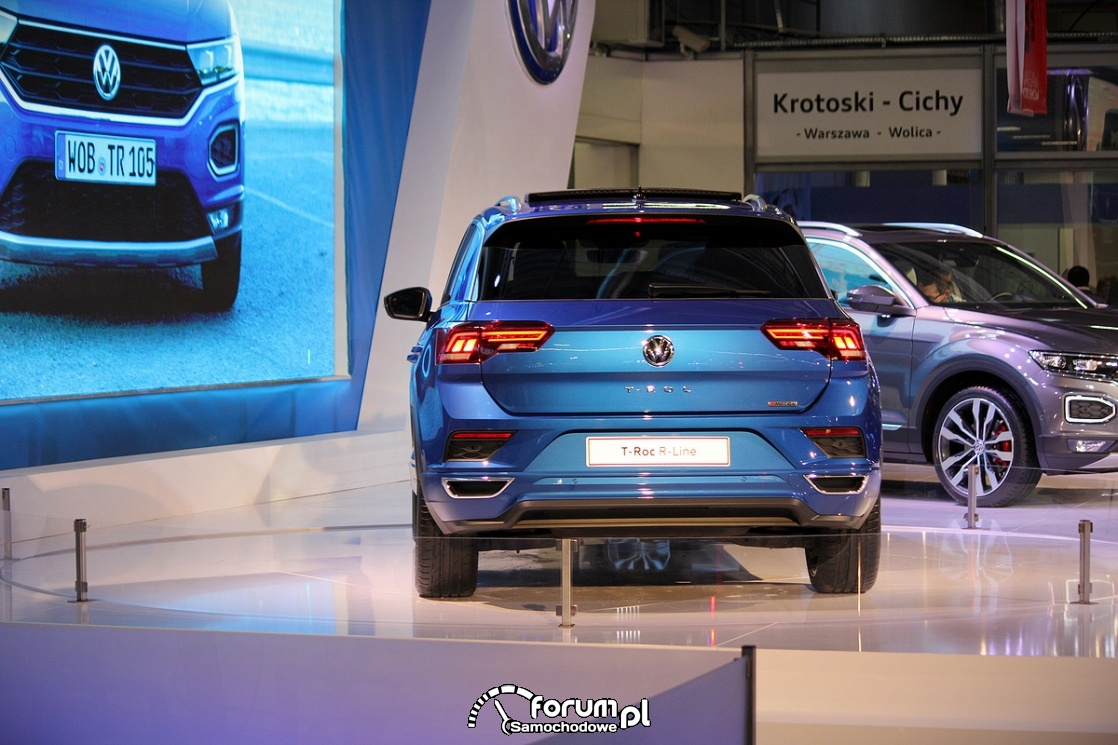 volkswagen t roc r line ty zdj cie warsaw moto show 2017 nadarzyn. Black Bedroom Furniture Sets. Home Design Ideas