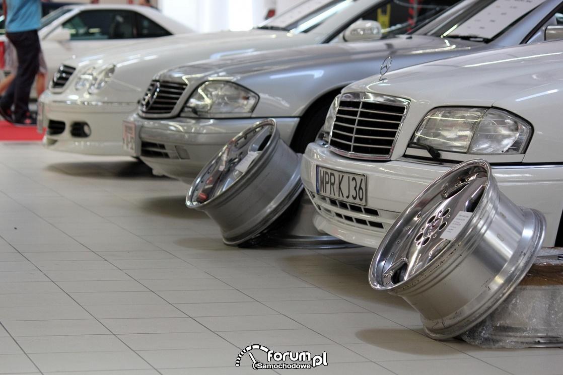 Alufelgi, Mercedes