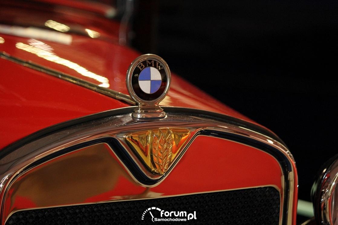 BMW Dixi 3-15 PS DA-2, 1929 rok, emblemat na masce