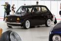 Fiat 126p z przyczepką , tuning, żółte lapmy