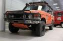 Kapeć, guma, flak, Range Rover