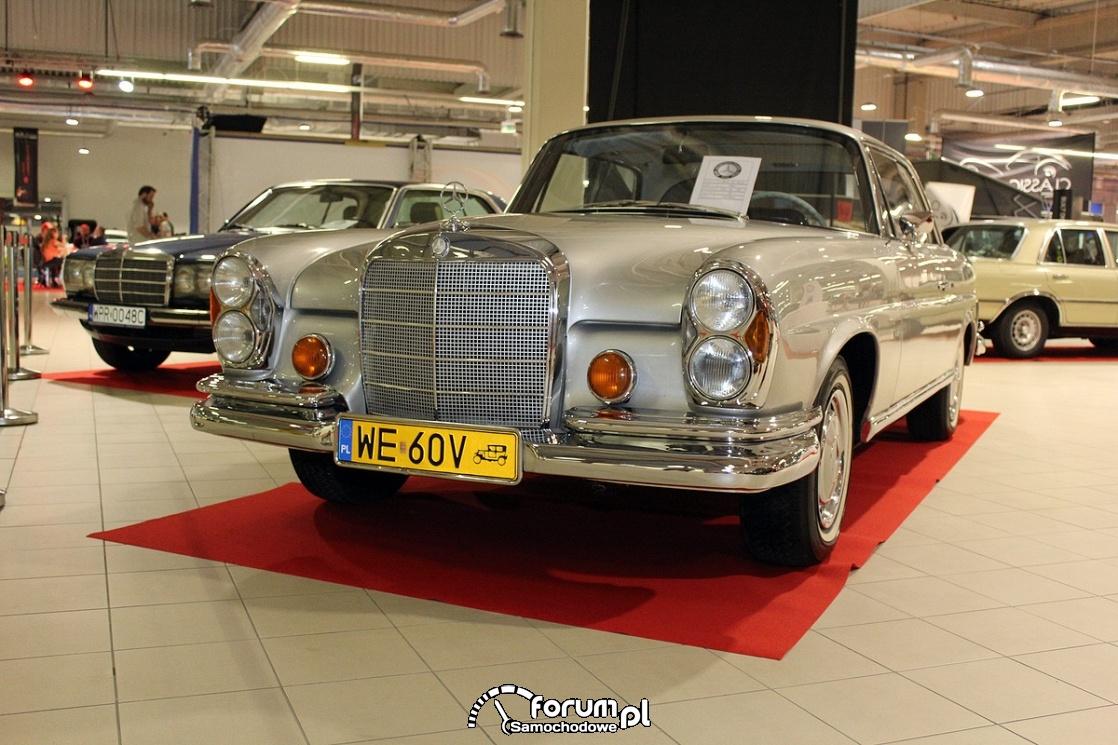 Mercedes-Benz 280SE W111, 1968 rok