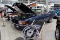 Mercedes-Benz 280SL Cabrio, oldtimer garage