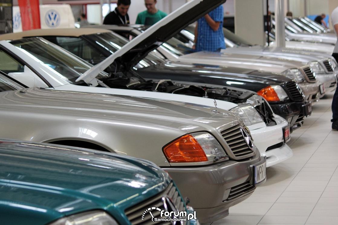 Mercedes-Benz R129, przód