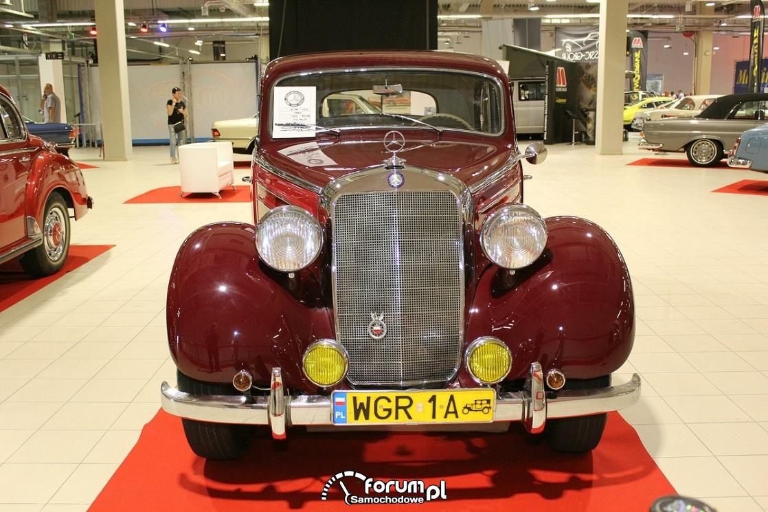 Mercedes-Benz W136 170S, 1950 rok, przód