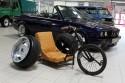 Trzykołowy rower z alufelgami