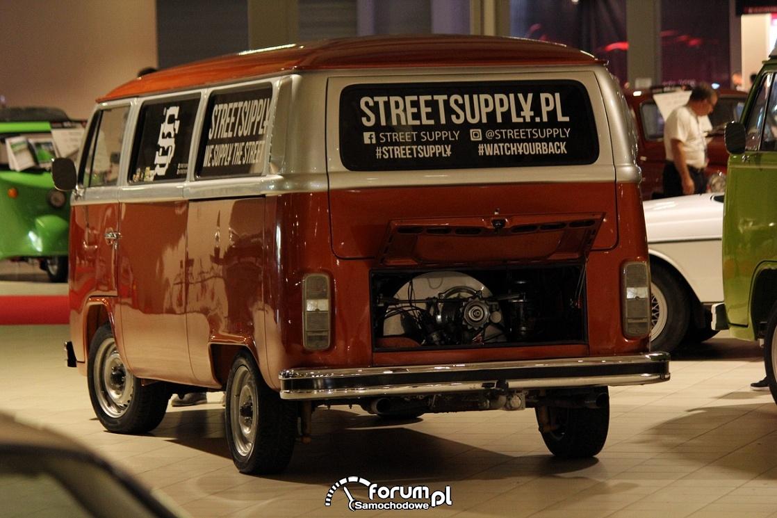 Volkswagen T1 Bulik, tył, silnik