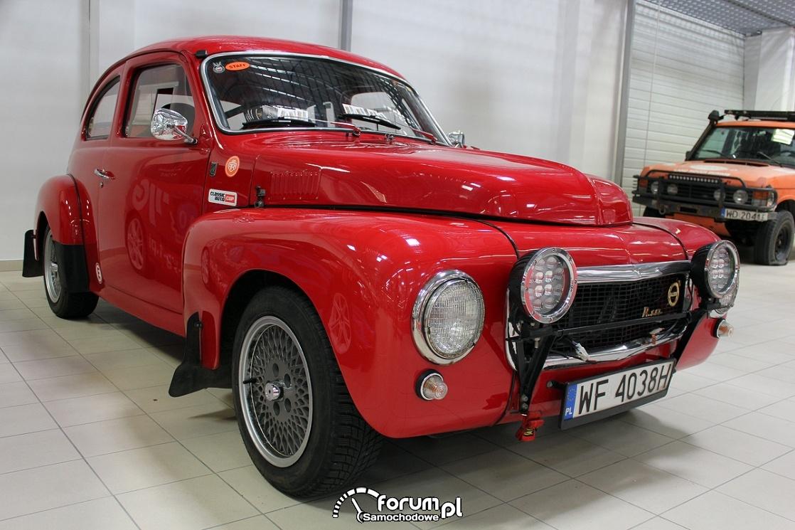 Volvo B18, sports car