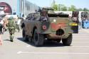 Wojskowa amfibia BDRM-2, tył