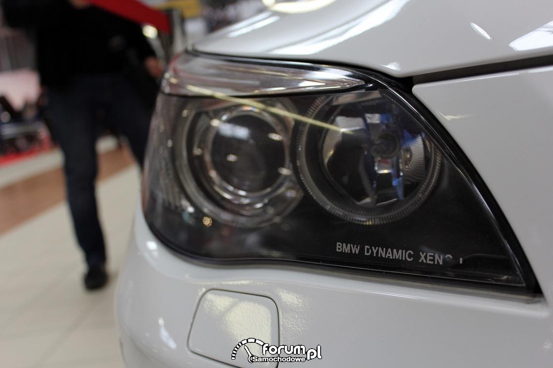 BMW E60 Dynamic Xenon przedna lampa