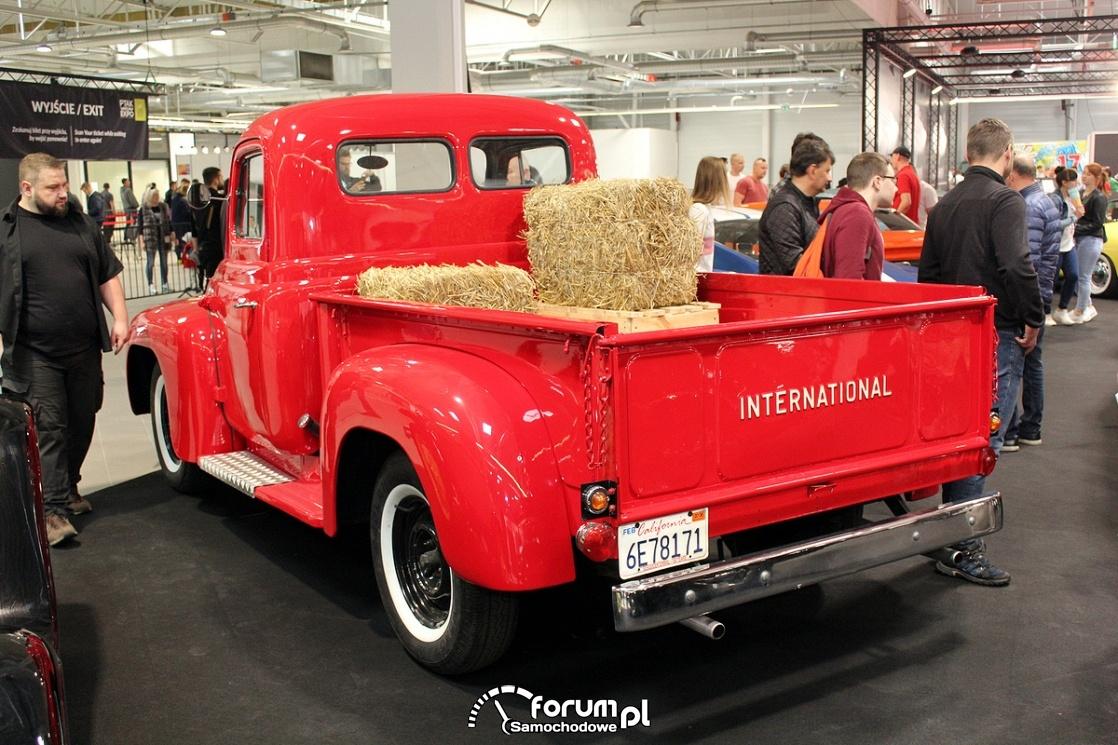 Chevrolet International,pick-up, tył