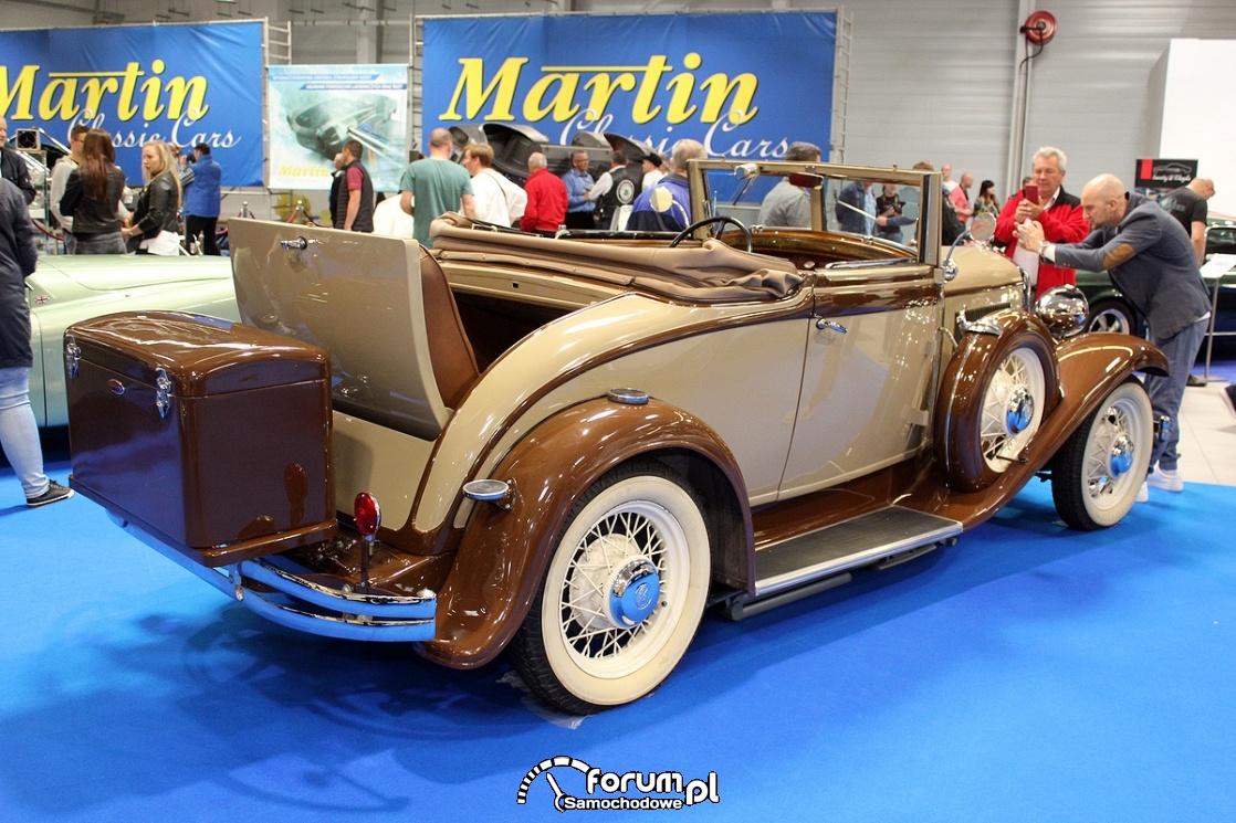 Chrysler CL, 1932 rok, bok