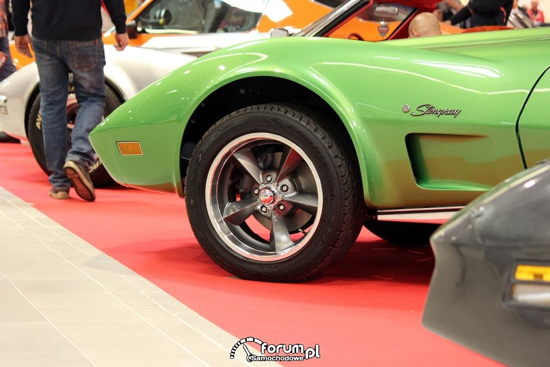 Corvette Stingray, alufelgi
